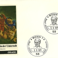 First Day Cover - Germany - 1971 - Folio-Print