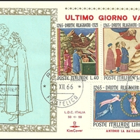 Last Day Cover - Italy - 1966 - KimCover