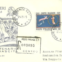 First Day Cover - Italy - 1965 - Capitolium