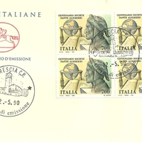 First Day Cover - Italy - 1990 - Poste Italiane