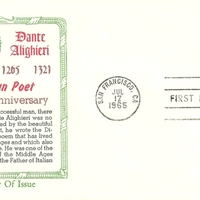 First Day Cover - United States - 1965 - Khol-Kraft