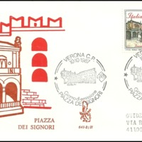 First Day Cover - Italy - 1987 - Venetia