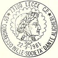 Cancellation - Italy (Lecce) - 1981 September 22
