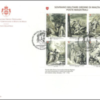 First Day Cover - Sovereign Military Order of Malta - 2014 - Poste Magistrali