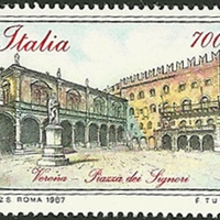 Postage Stamp - Italy - 1987