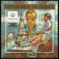 Postage Stamp - Guinea - 1990