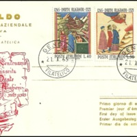 First Day Cover - Italy - 1965 - Ansaldo Dopolavoro Aziendale, Sezione Filatelica