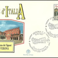 First Day Cover - Italy - 1987 - Filagrano