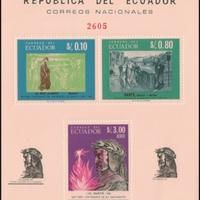 Miniature Sheet - Ecuador - 1966