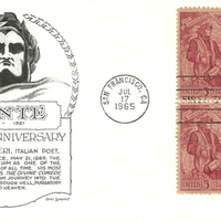 First Day Cover - United States - 1965 - Aristocrats