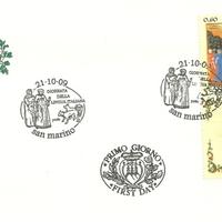 First Day Cover - San Marino - 2009 - Azienda Autonoma di Stato Filatelica e Numismatica