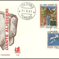 First Day Cover - Italy - 1965 - Bucintoro