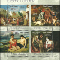 Miniature Sheet - São Tomé and Príncipe - 2013