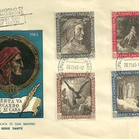 First Day Cover - San Marino - 1965 - Volpini