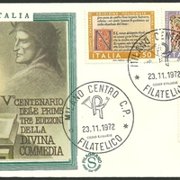 First Day Cover - Italy - 1972 - Filagrano