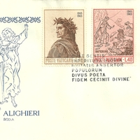 First Day Cover - Vatican City - 1965 - Rodia