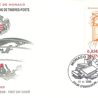 First Day Cover - Monaco - 2009 - Office des Émissions de Timbres-Poste
