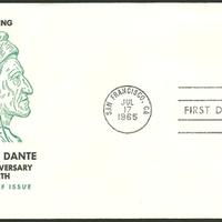 First Day Cover - United States - 1965 - KJM