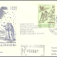 First Day Cover - Vatican City - 1965 - Capitolium